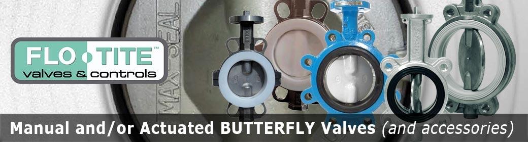 Slide FLO-TITE butterfly valves