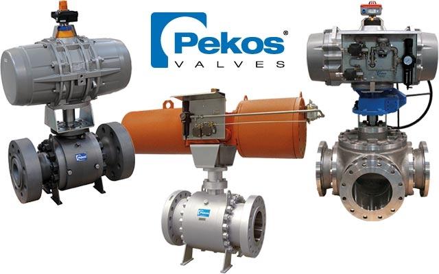 PEKOS – Vannes à boisseau sphérique
