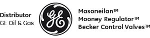 Distributor GE Oil & Gas Masoneilan, Mooney, Becker